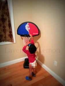 That's lime playing basket ball! :-)